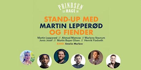 Stand up: Martin Lepperød og fiender tickets
