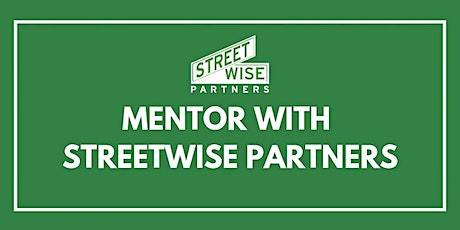 Professional Mentoring with StreetWise Partners tickets