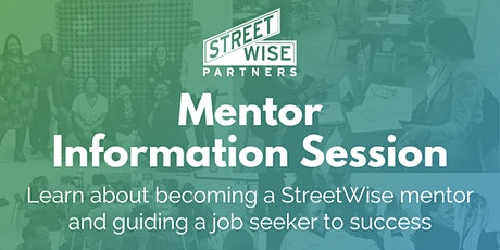 Virtually Mentor a Job-Seeker to Career Success tickets