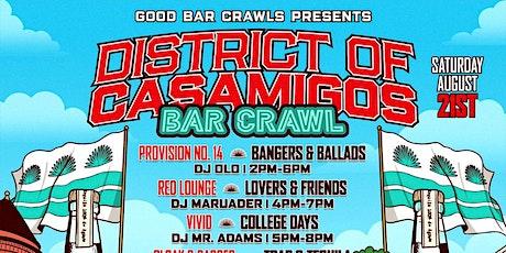 District of Casamigos Barcrawl tickets
