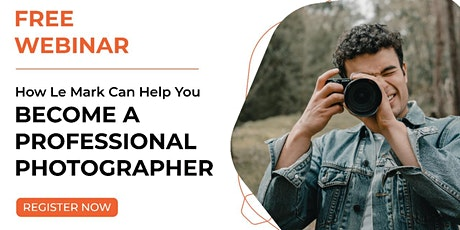 How to become a Professional Photographer tickets