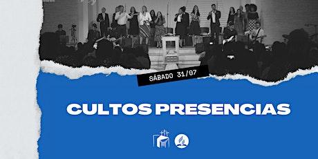 Culto e  Escola Sabatina - 31/07/2021 ingressos