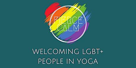 Welcoming LGBT+ people in yoga  - a Fierce Calm Workshop w/ Gabi Markham tickets