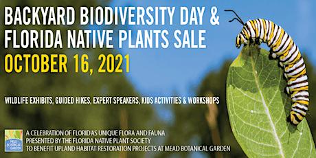 Backyard Biodiversity Day tickets