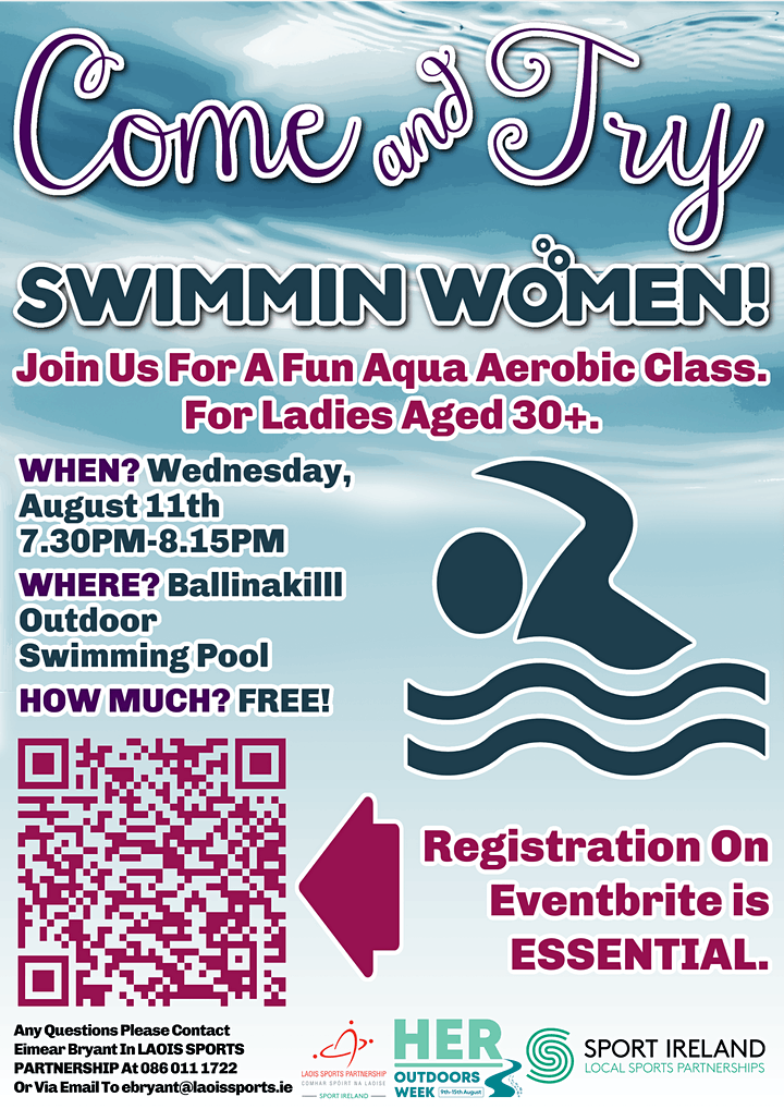 Come and Try Swimmin' Women Session image