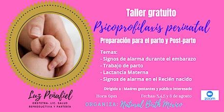 Psicoprofilaxis Perinatal-Preparación para el parto biglietti