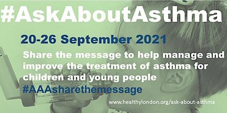 #AskAboutAsthma 2021 Pharmacy webinar tickets