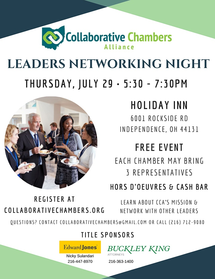 Leaders Networking Night image