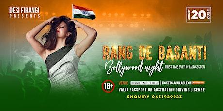 Rang de Basanti Bollywood Night tickets