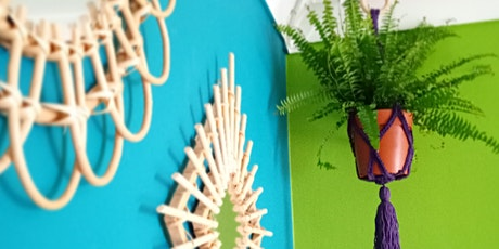 Crochet your own plant hanger tickets