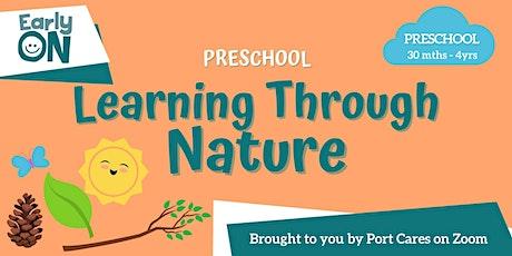 Preschool Learning Through Nature - Nature Sun Catcher tickets