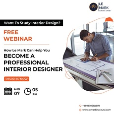 How to become a Professional Interior  Designer tickets