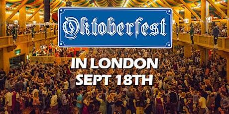 WONDERS - Oktoberfest in London! tickets