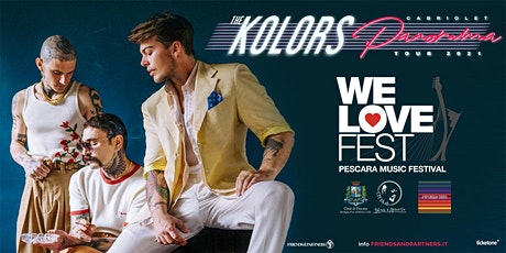 The Kolors - WE LOVE FEST biglietti