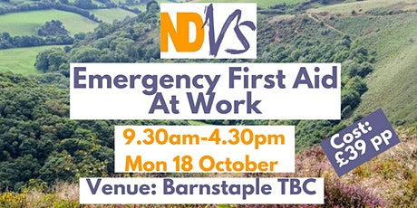 Emergency First Aid at Work 1-day course tickets