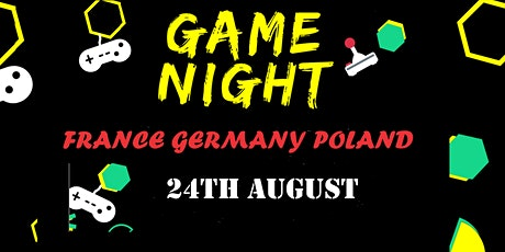 Game night France Germany Poland billets