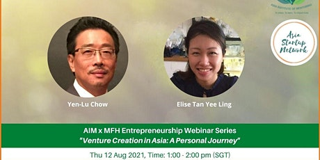 Venture Creation in Asia: A Personal Journey | Entrepreneurship Series tickets