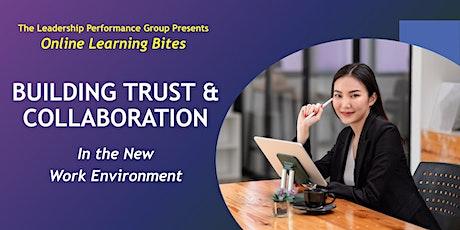 Building Trust & Collaboration (Online - Run 18) tickets