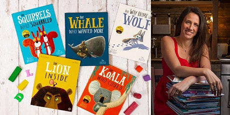 Children's author Rachel Bright coming to Dorchester Library tickets