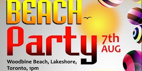 GTA Beach Party (Toronto) tickets