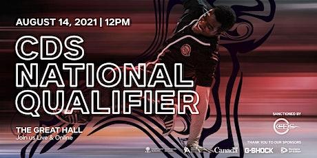 CDS National Qualifier tickets