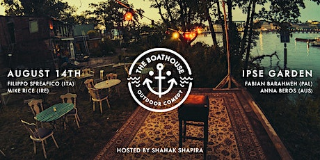 THE BOATHOUSE x OUTDOOR COMEDY tickets