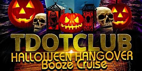 Tdotclub Halloween Hangover Booze Cruise (November 6, Saturday) tickets