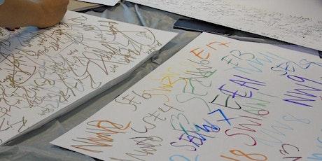Be the change: Climate Pledge Calligraffiti workshop biglietti
