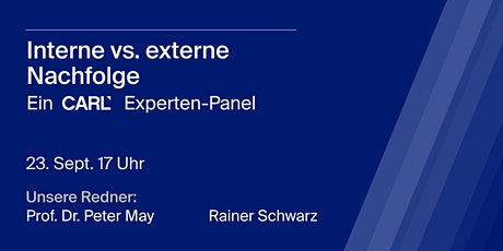 Experten-Panel: Interne vs. externe Nachfolge Tickets