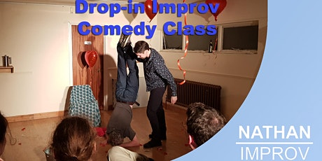 Weekly Advanced Drop-in Improv Comedy Class (Online) tickets