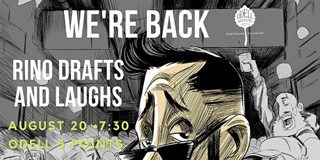 RiNO drafts and Laughs tickets
