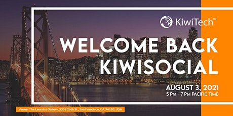 Welcome Back KiwiSocial tickets