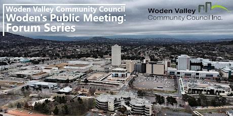 Woden's Public Meeting  - Homelessness Week Forum tickets