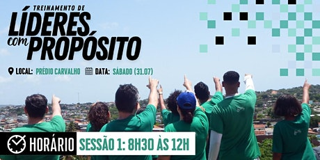 TREINAMENTO DE LÍDERES COM PROPÓSITOS (TLP) ÀS 08H30 - 31.07 tickets