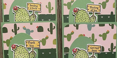 Creative Cards Made From Your Favorite Scrapbooking Supplies tickets
