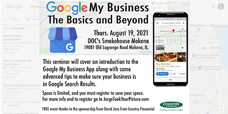 Google My Business - The basics and beyond tickets