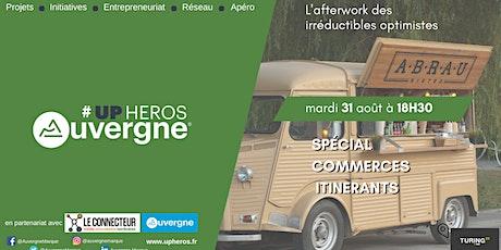 Upheros Clermont-Ferrand août - Spécial commerces itinérants billets