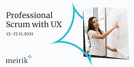 Professional Scrum™ with User Experience (PSU) | English | 15-17.11.2021 biglietti