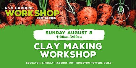 Clay Making Workshop tickets