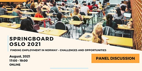 Panel Discussion: Finding Employment in Norway-Challenges and Opportunities tickets