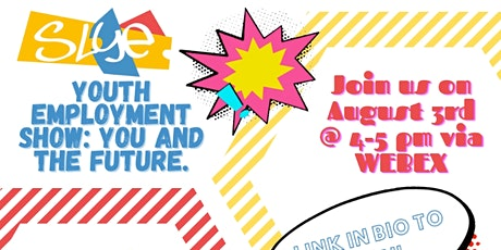 """Online Roadshow: """"Youth Employment Show: You and the Future"""" tickets"""