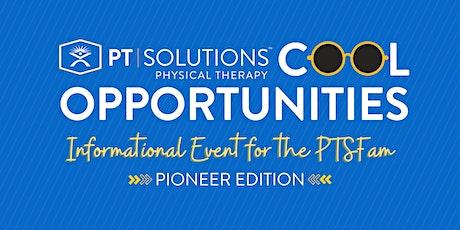 PT Solutions Pioneer Program Information Session tickets