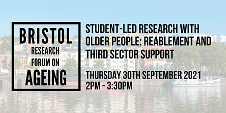 Student-led research with older people: reablement and third sector support tickets