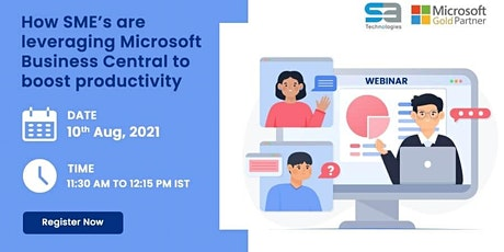 How SME's are leveraging Microsoft Business Central to boost productivity tickets