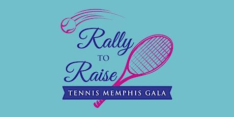 Tennis Memphis's Rally to Raise Gala tickets