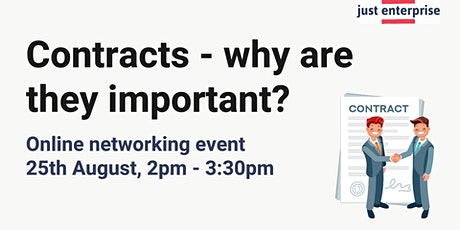 Contracts - why are they important? tickets