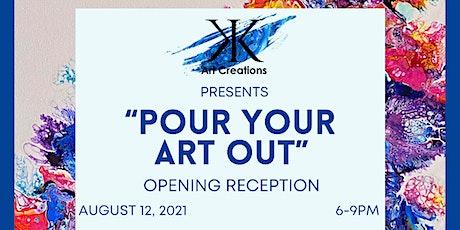 """Pour Your Art Out"" Exhibition at CANVAS Dallas tickets"