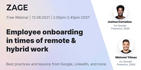 Employee Onboarding in Remote Times Tickets