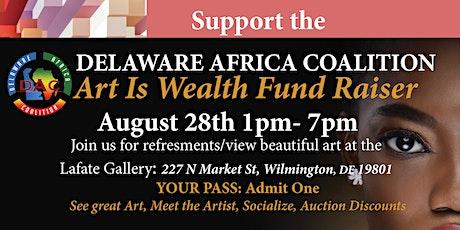 Art Is Wealth  Fund Raiser tickets