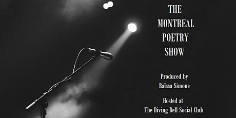 The Montreal Poetry Show tickets